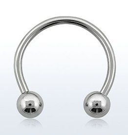 Circular barbell, 14g, 5mm ball - 10MM