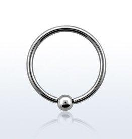 Ball closure ring, 16g, 3mm ball-8MM