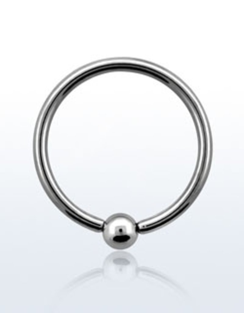 Ball closure ring, 16g, 3mm ball-8MM
