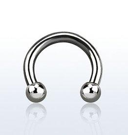 Circular barbell, 14g, 3mm ball - 8MM