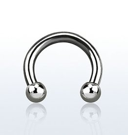 Circular barbell, 14g, 3mm ball - 10MM