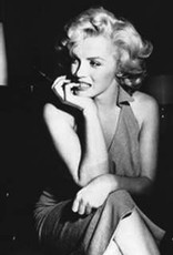 Marilyn Monroe Biting Nails