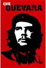 Che Guevara-Red Background