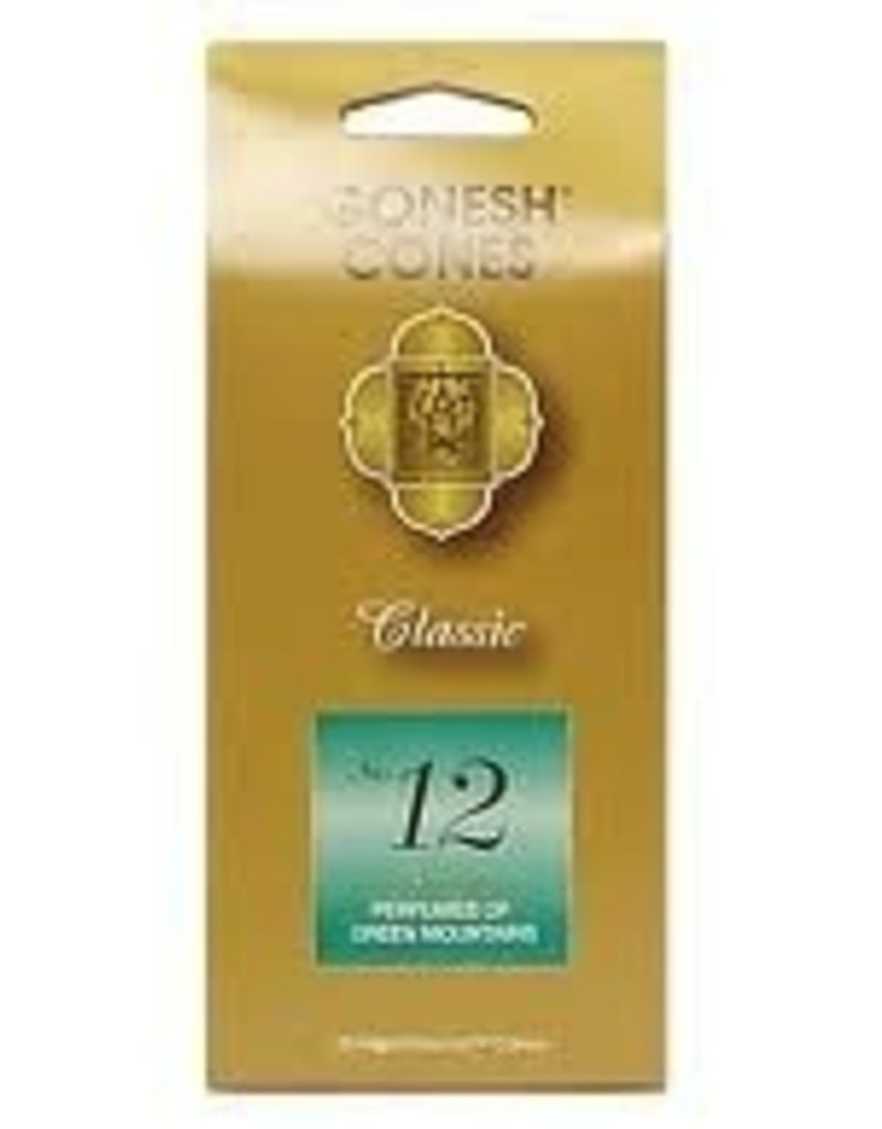Gonesh Cones No.12<br />Green Mountains