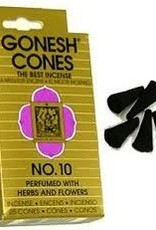 Gonesh Cones No.10,Herbs And Flowers