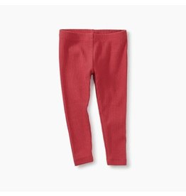 Pointelle Baby Leggings, Pomegranate