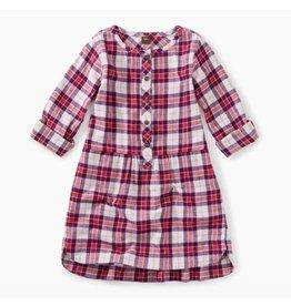 Flannel Shirtdress, Classic Plaid