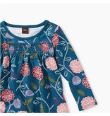 Printed Smocked Baby Dress, Folksy Floral