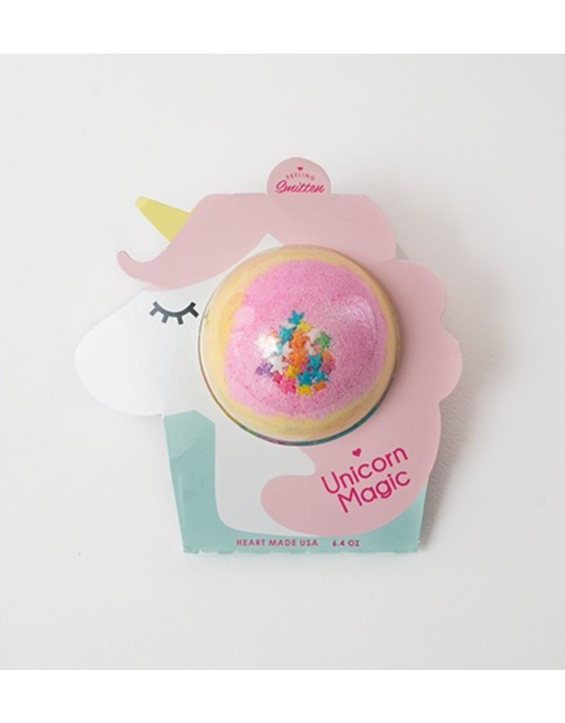 Feeling Smitten Unicorn Magic Bath Bomb
