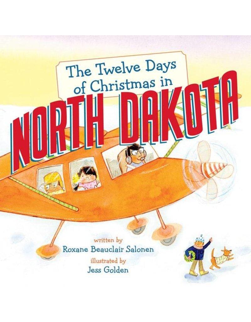 Twelve Days of Christmas in North Dakota Board Book