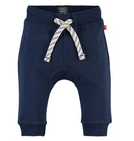 Baby Boy Sweats with Drawstring, Indigo