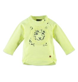 Mighty Lion Pullover, Neon Yellow