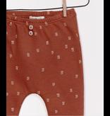 Printed Jersey Legging, Rust