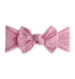 Patterned Shabby Knot, Bubblegum Dot