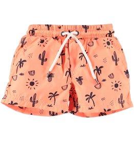 Desert Heat Swimshort, Neon Orange