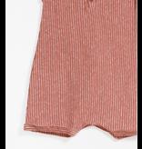 Striped Jersey Jumpsuit, Rust