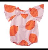 Miki Miette Paisley Bodysuit, Citrus