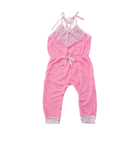 Miki Miette Livia Jumpsuit, Cotton Candy