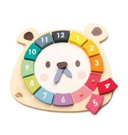 Tender Leaf Toys Bear's Colors Clock