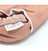 Bison Booties Bison Booties, Blush Denim