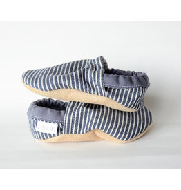 Bison Booties Bison Booties, Denim Stripe