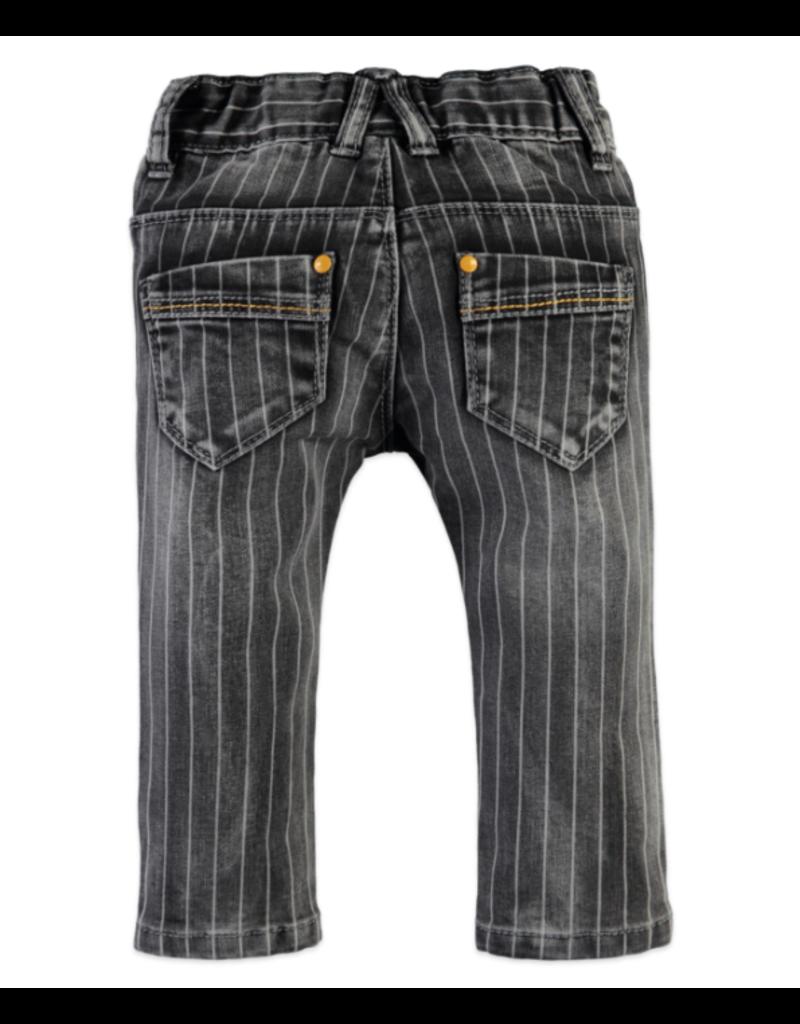 Girls Pants, Light Grey Pinstripe