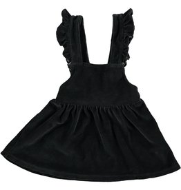 Velour Dress, Anthracite