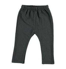Organic Cotton Sweat Legging, Anthracite