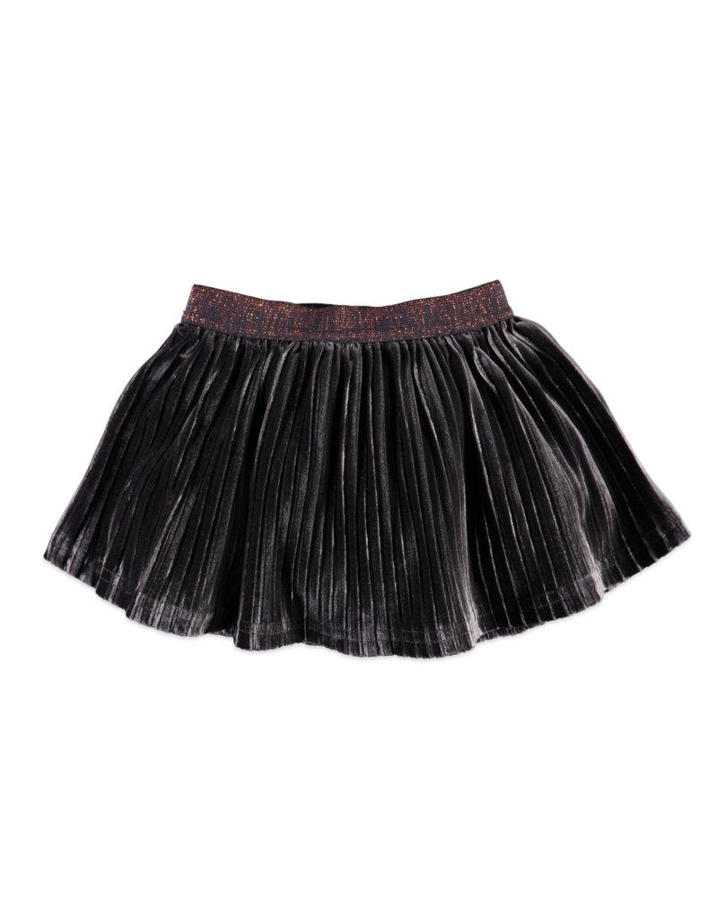 Velour Skirt, Antra Grey