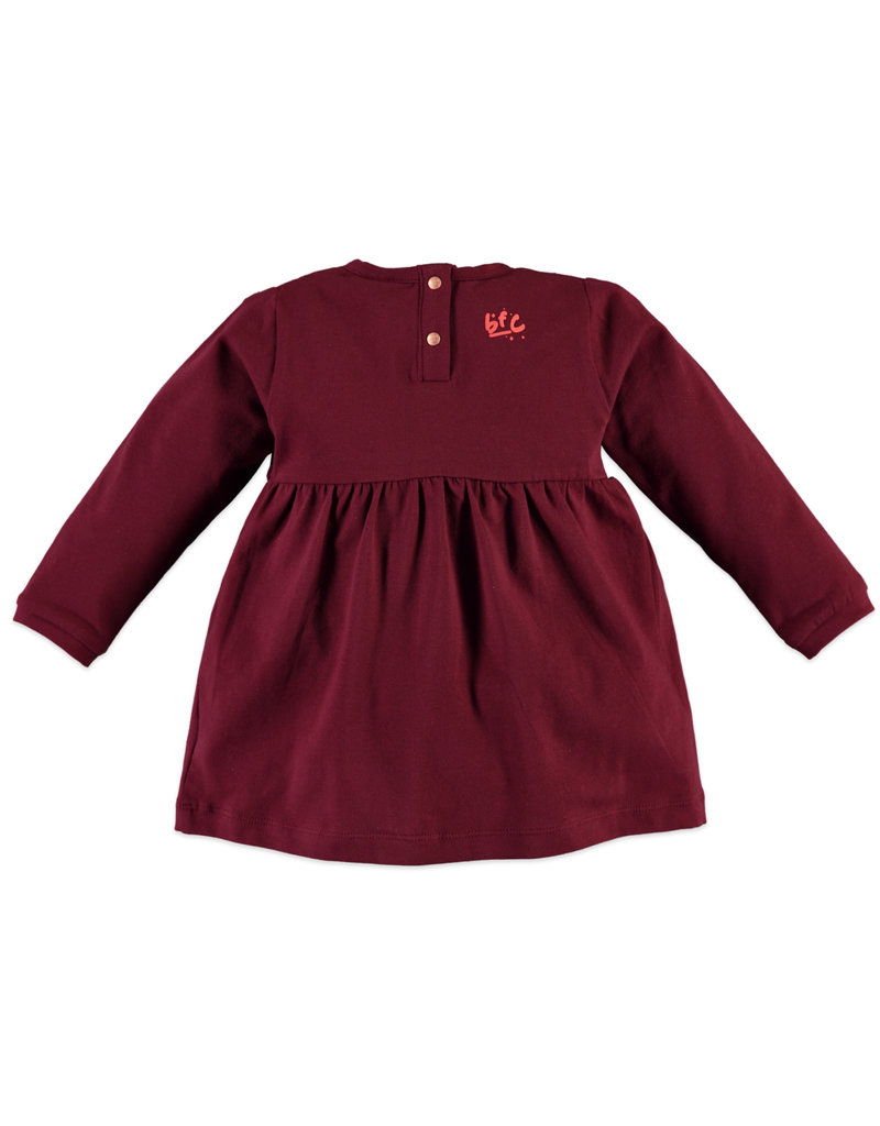 Girls Tee, Dark Ruby