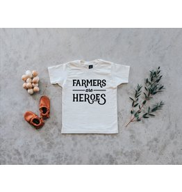 Oyster's Pearl Farmers are Heroes Organic Tee, Cream