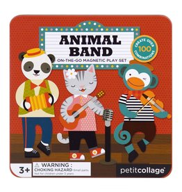 Petit Collage OTG Magnetic Play, Animal Band