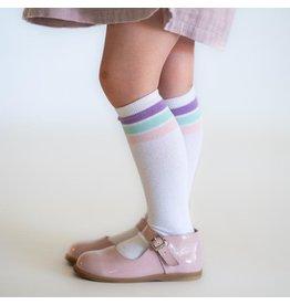 Little Stocking Co Spring Stripe Knee Highs