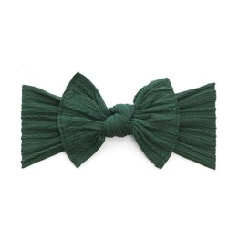 Cable Knit Knot, Forest Green