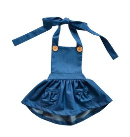 Emmy Suspender Bib Skirt