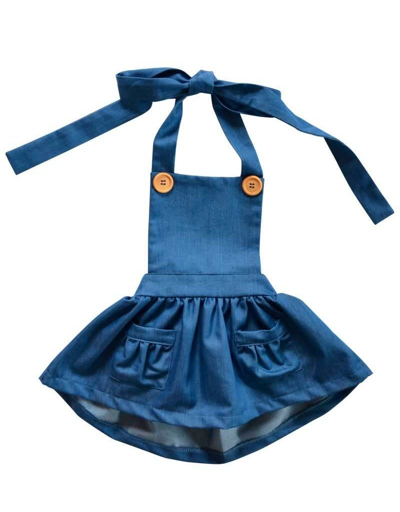 Emmy Suspender Bib Skirt