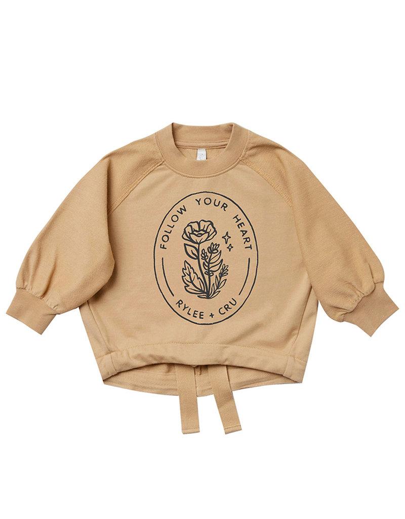 Rylee & Cru Follow Your Heart Sweatshirt