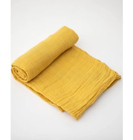 Cotton Swaddle, Mustard