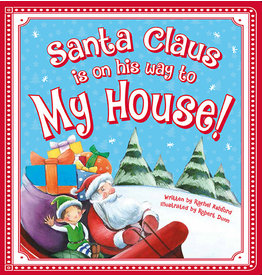 Sourcebooks Santa Claus Is on His Way to My House!