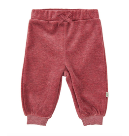 Velour Pants, Maroon