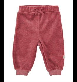 Velour Pants, Maroon
