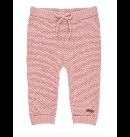 Knit Pants, Silver Pink