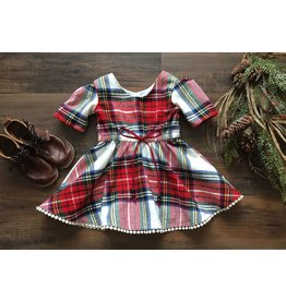 Frosty Air Holiday Plaid