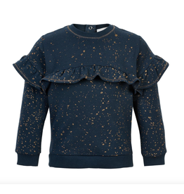Creamie Navy & Gold Fleck Pullover