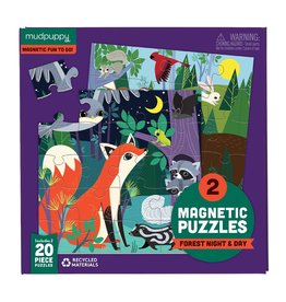 Magnetic Puzzle, Forest Night & Day