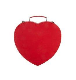 Sass & Belle Valentine Heart Suitcase