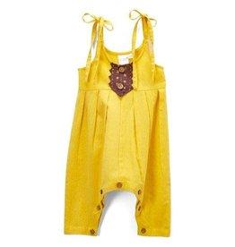 Yo Baby Steph Infant Jumpsuit, Sunshine