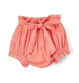 Yo Baby Diaper Cover with Belt, Coral
