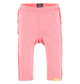 Baby Girl Legging, Neon Pink Ribbon