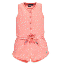 Bright Sunshine Romper, Peach Pink